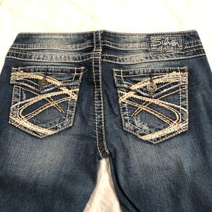 Silver jeans boot cut 28 x 30